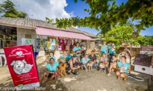 Lanta Animal Welfare Volunteers and some Residents