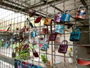 Wall of Love Locks