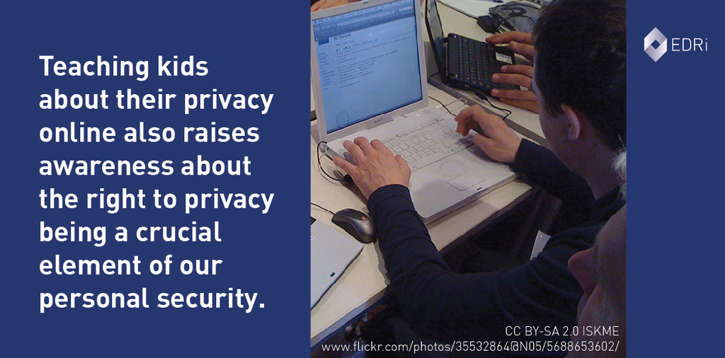 Educate and empower children on online privacy