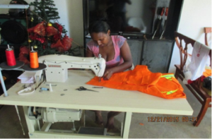 Our new beneficiary Candelaria (dressmaker)