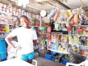 Oneida in her store