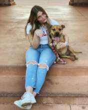 Her adopter says Pixie bring her so much joy