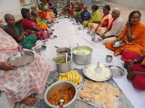 food sponsorship to poor older people