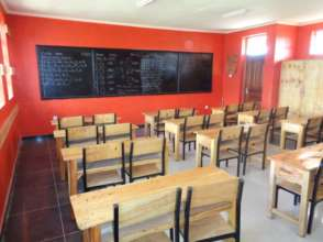 High-quality classrooms right outside of the slums