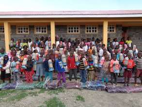 The First Christmas at the LLK Education Center