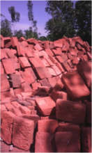 Community bricks for the Pre-Primary School