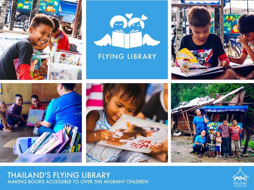 "Thailand's ""Flying Library"" for over 500 children"