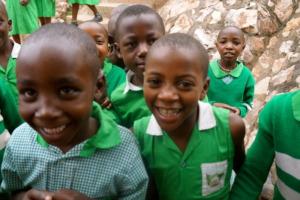 Kutamba Primary School Students