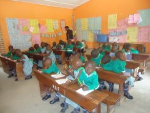 Kutamba Primary School Nursery Students In Class