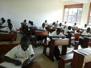 Students at Nyaka Vocational Secondary School