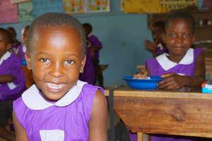 Student at Nyaka Primary School