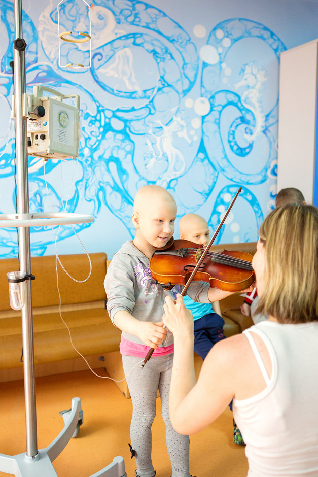 Life-saving treatment for kids in Ukraine