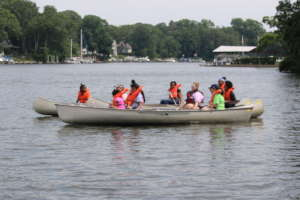 Girl Scout Canoe Fleet