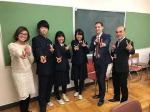 U.S. Embassy staff joined our school visit