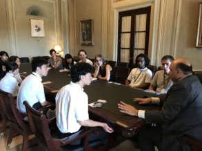 Meeting with U.S.-Japan Congressional Caucus