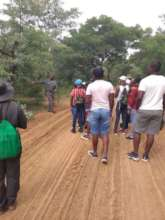 An educational walk by a Marakele Park guide