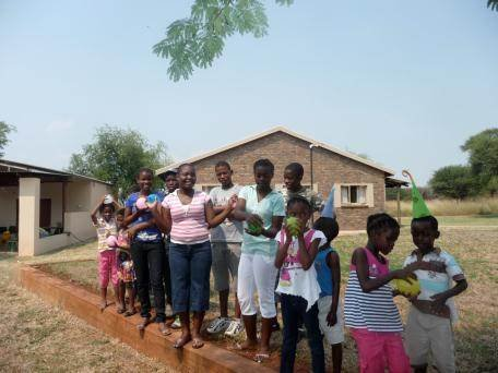 Educating the Thabang Children