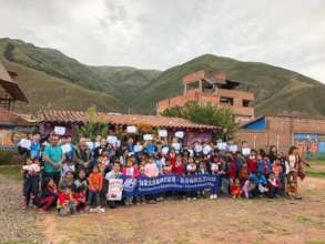 A group of 30 students volunteered in March