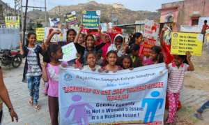 Gender Awareness Rally lead by Women