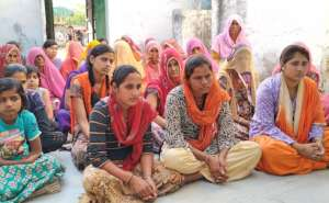 Women & Girl Participating in Workshop!