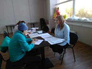 Recruiting of donors in Kostomuksha