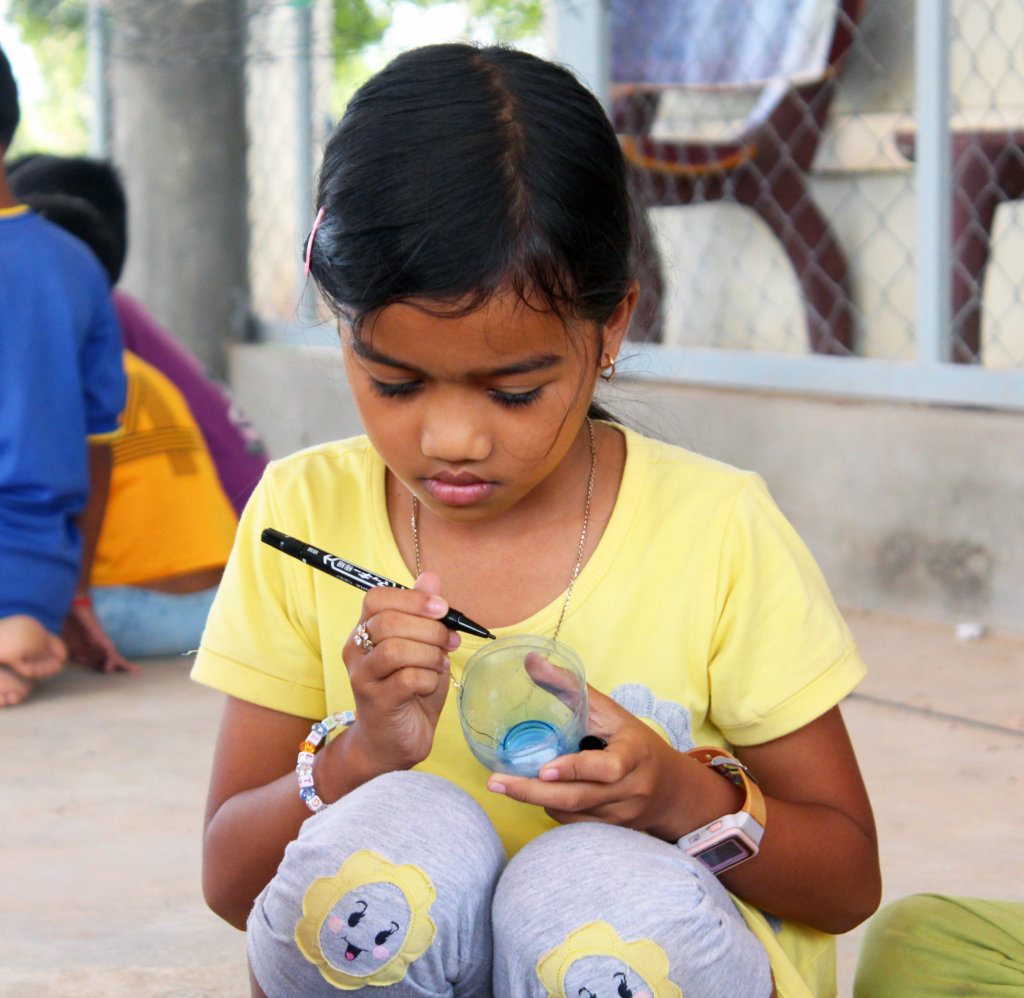 Give 300 Children Art & Dance lessons in Cambodia
