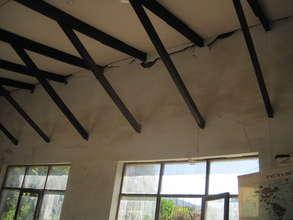 School roof in danger of collapse