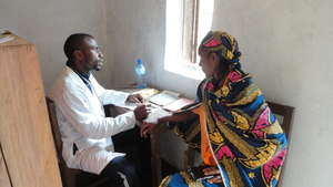 Bafmen Fulani Community Member at Clinic Outreach