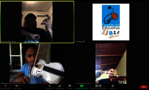 String virtual lessons