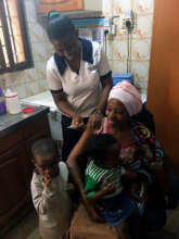 Joan receives an injectable contraceptive at AMS.