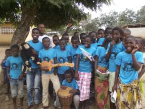 Club P.A.N. children in Cote d'Ivoire