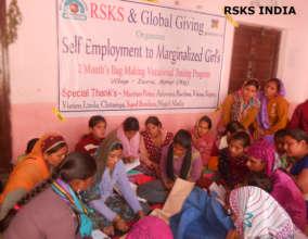 Employment for 20 marginalized Girls