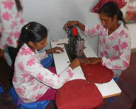 Vocational Education of Bag making