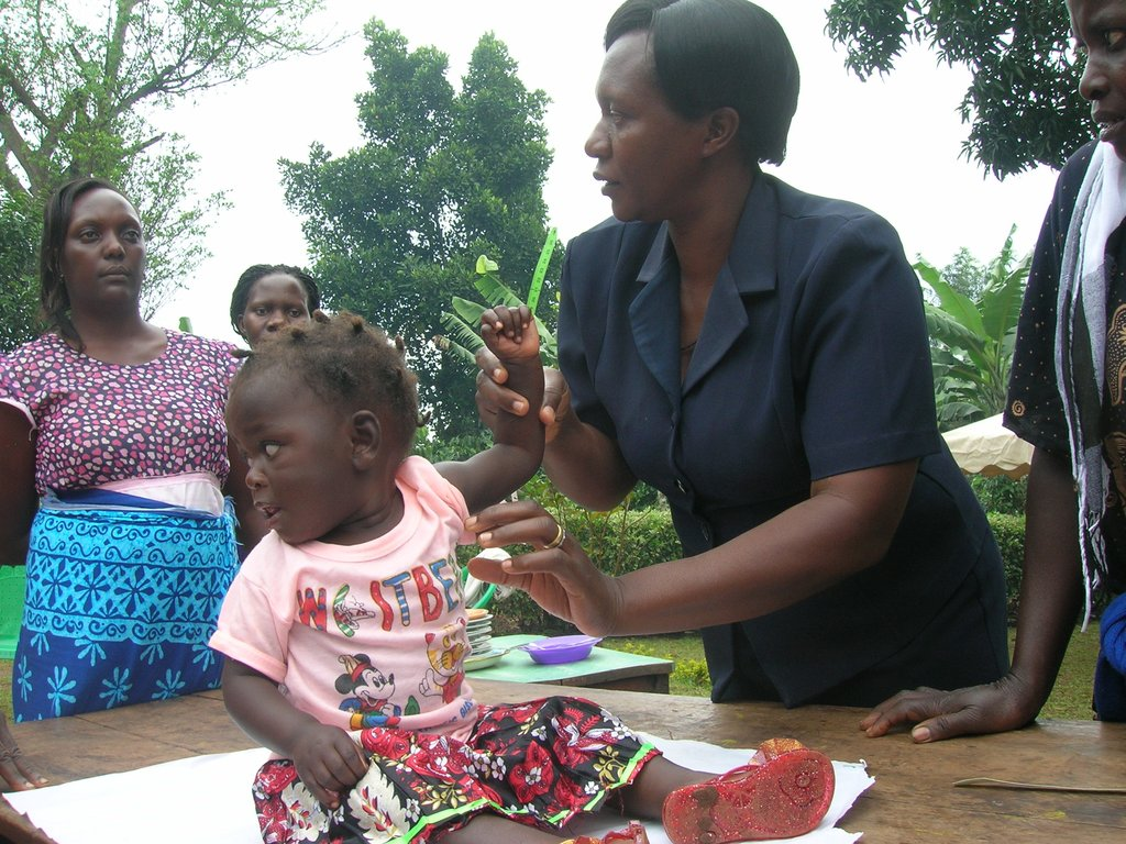 Help mothers fight malnutrition among children