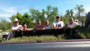 Tribal Members Plant Trees