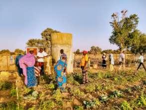 Community wells enable community gardens