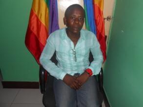 Abdallah  Mdongo  an activist for LGBTQ movement