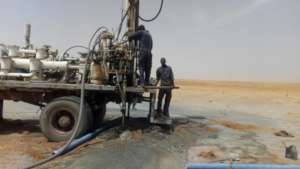 Drilling for Water in Tikailat and Geleidat