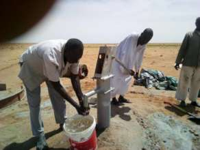 Clean Water flowing close to villages