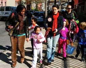 International School in Brooklyn Walks for Water