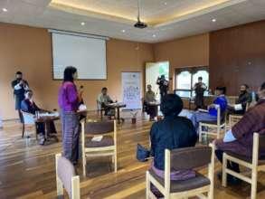 Discussion at the Reimagining Bhutan forum