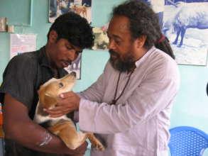 Vishwa and Mooji.