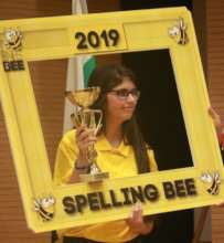 The 2019 Spelling Bee Champion