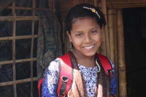 Hasina a 13 year old Rohingya refugee