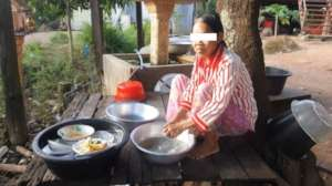 Phorn now can help her family with housework