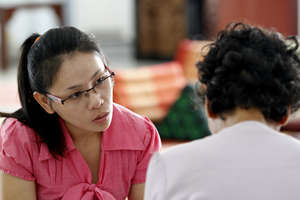 TPO Counselor with Client