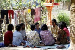 TPO Self-help group for rural women meeting