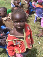 Children in our food distribution program