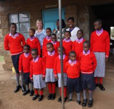 Our students in their new uniforms