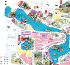 The first in China! Beijing's ShiChaHai Green Map